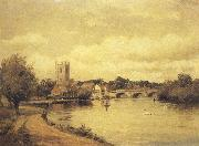 Alfred de breanski Henley-on-Thames (mk37) oil painting picture wholesale